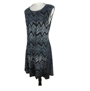 SUGARLIPS SLEEVELESS FIT AND FLARE DRESS